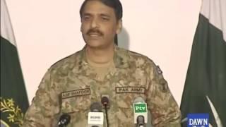 DG ISPR Major General Asif Ghafoor