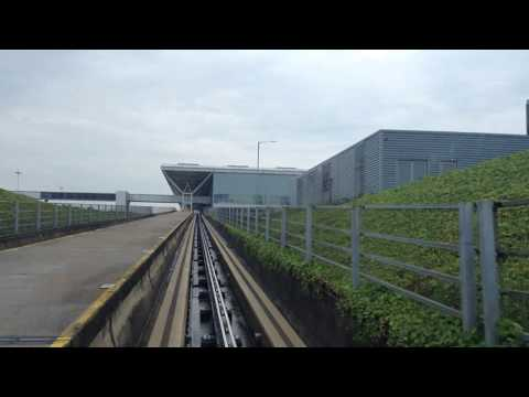 Stansted Airport Tram Main Terminal to Gate 20-39