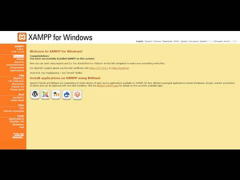 How to set password and add a new user in Xampp