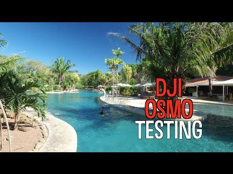 DJI Osmo Testing In Costa Rica