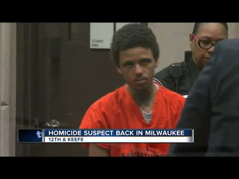 Man accused of killing Milwaukee teen appears in court