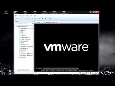 Installing Windows XP SP3 (Japanese) on VMWare