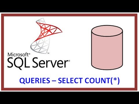 SQL Server - Query Table Record Data via TSQL - SELECT COUNT