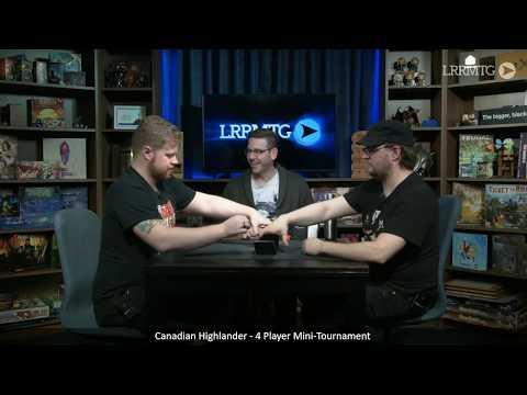 Friday Night Paper Fight — 4 Person Highlander
