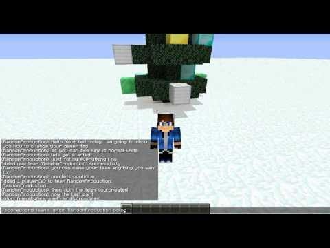 How to change your nametag colour in Minecraft