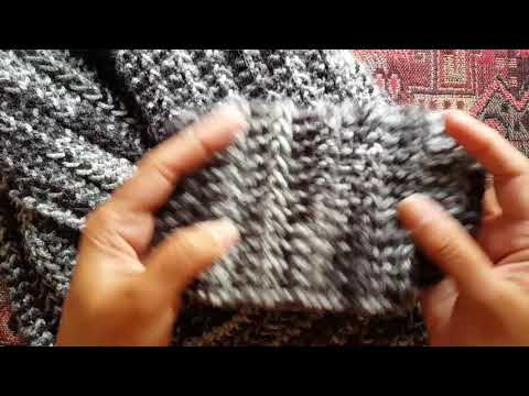 How to knit the 1-row repeat scarf: a Knittycat's Knits tutorial