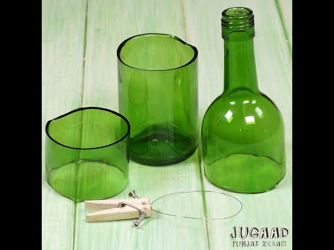 How to Cut Glass Bottle with a Wire