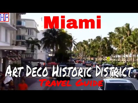Miami | Miami Beach Art Deco District | Travel Guide | Episode# 13