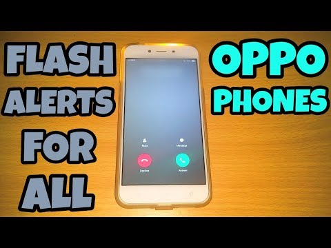Oppo Flash Alerts Feature | Flash Alerts For All Oppo Phones By Technology Master