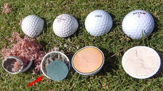 Download What's inside ILLEGAL Golf Balls? Video