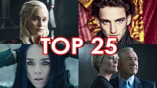 Top 25 Summer 2017 TV Shows