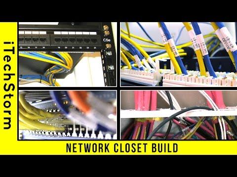Network Rack Closet Build (Home Area Network)