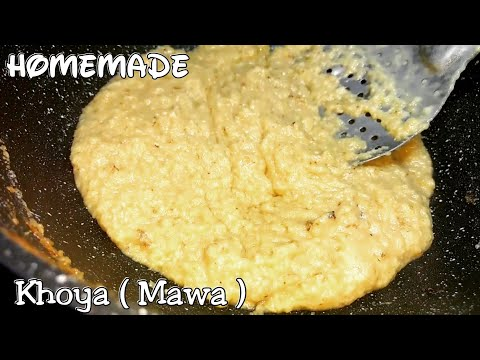 घर पे बनाए 100 % शुद्ध खोया |How to make Mawa at home |Homemade khoya Recipe |Homemade mawa |