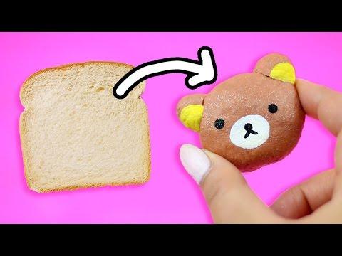 TURN BREAD INTO CLAY ♥ DIY