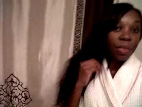 Virgin Indian Wet & Wavy Sew In day two debut/review!