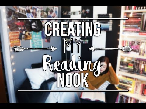 CREATING MY READING NOOK.