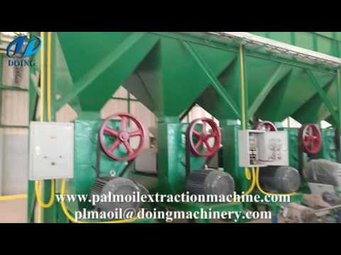 Simple designed palm oil mill in Indonesia | palm oil production process machine