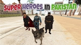 Superheroes In Pakistan | THE DOG