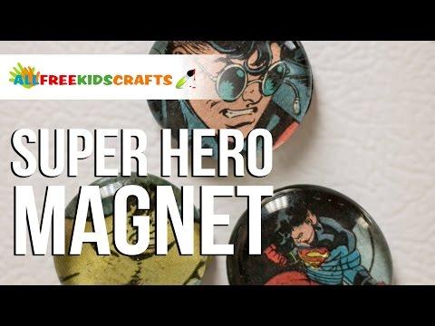 Super Hero Magnet