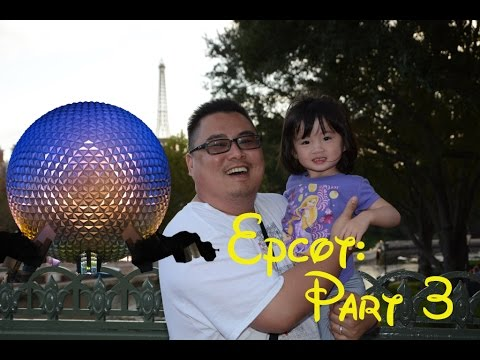 Disneyworld, Legoland, and Universal Part 3 - Epcot