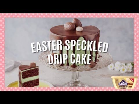 Easter Speckle Drip Cake Recipe » Bake With Stork
