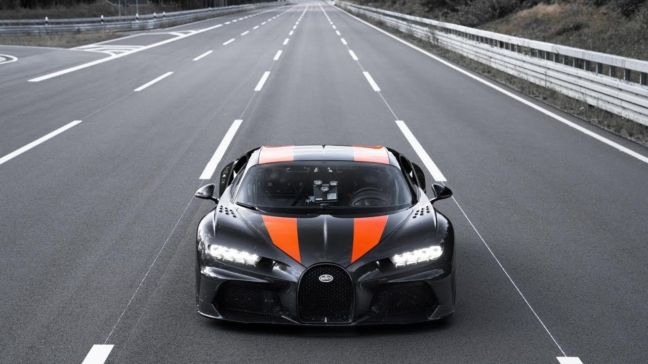 490+ kilometers per hour | Bugatti Chiron | Speed record