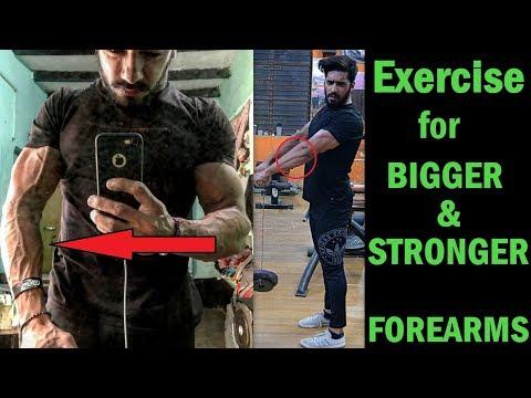 Exercise for BIGGER & STRONGER FOREARM | bodybuilding tips