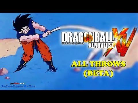 Dragon Ball Xenoverse All Throws (BETA)