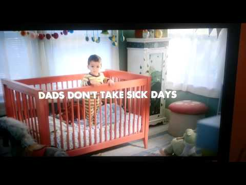 Nyquil dad sick day commercial