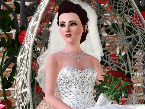 sims 3 lets play. lets get married..