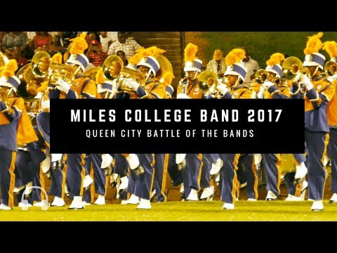 Field Show - Miles College Marching Band - QCBOTB 2017 | 4K