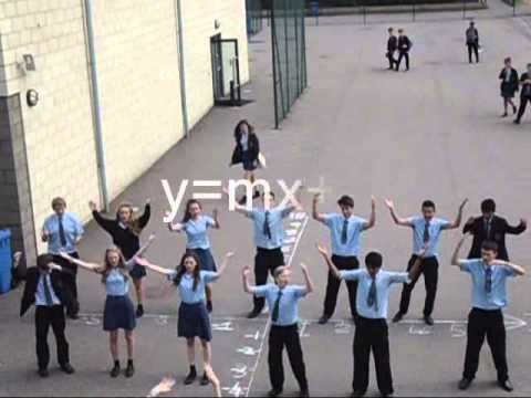 Y=MX+C Maths Music Video about Equations of Straight Line Graphs
