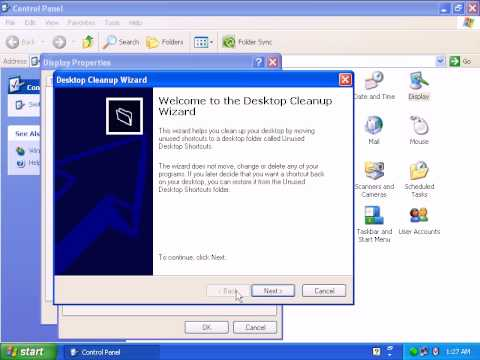 How To Configure The Display Properties In Windows XP