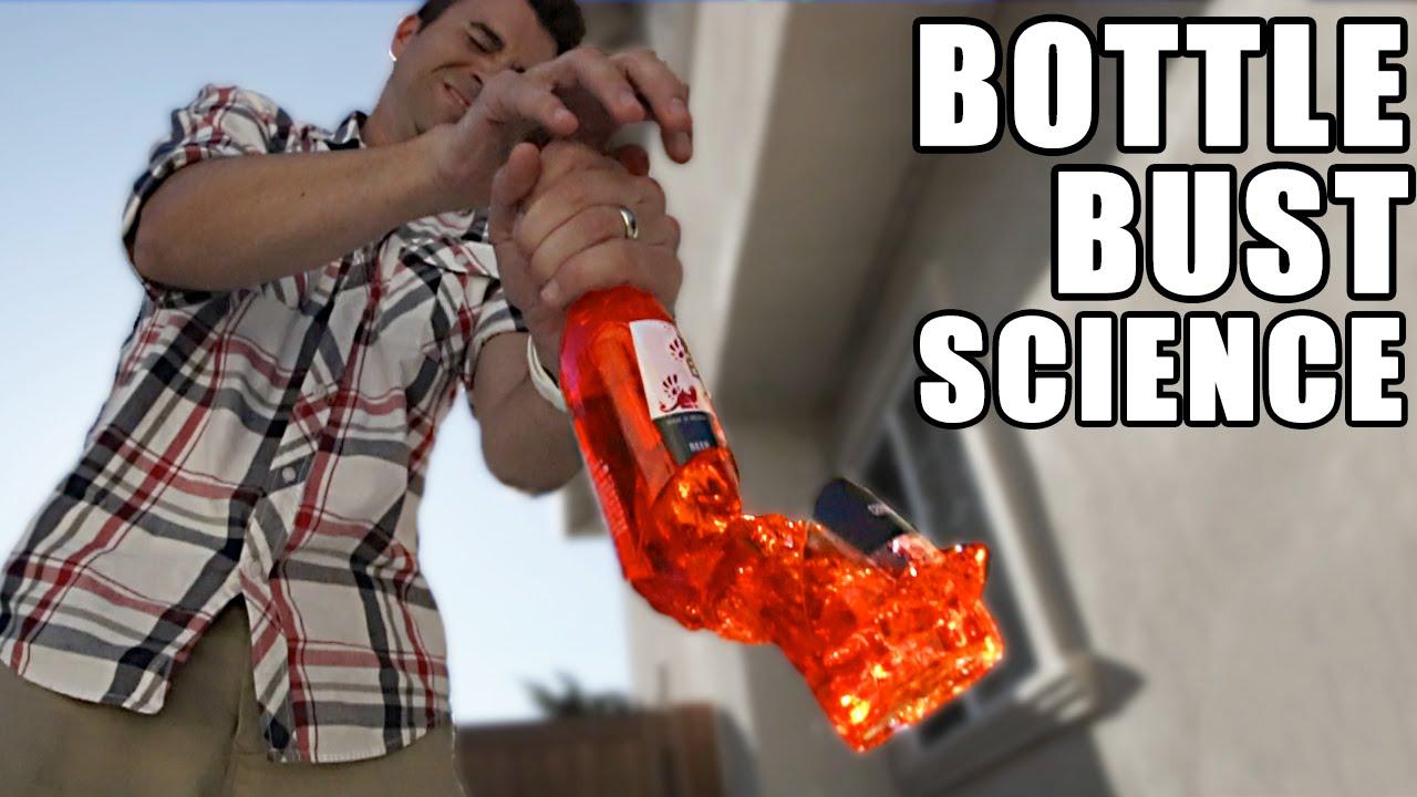BARE HAND Bottle Busting- Science Investigation