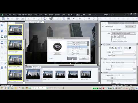 Using Smart Shapes in Adobe Captivate 6 - Part 2