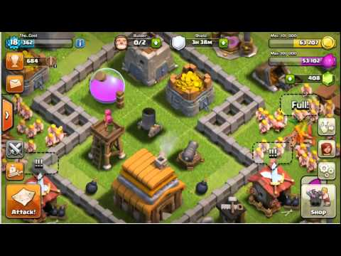 Clash Of Clans - How to Change Game Center Profile IOS 7/8