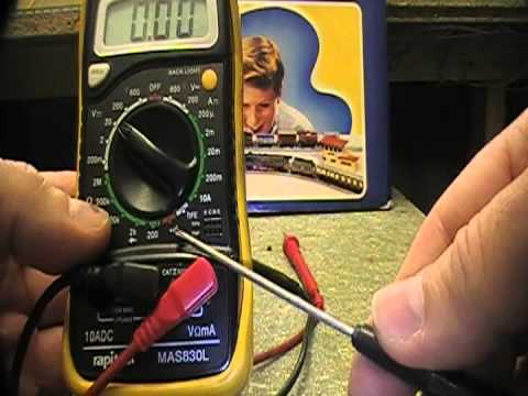 Dublo electrical test.