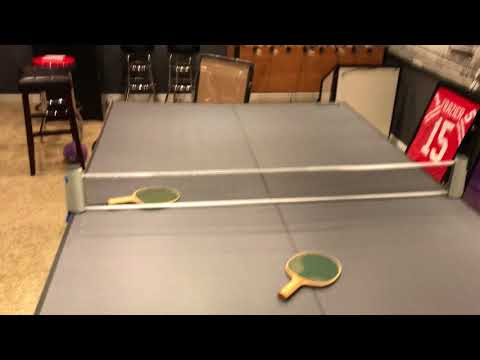 Franklin Folding Ping Pong Table Overview