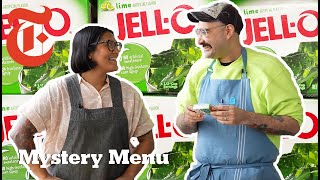 2 Chefs Try To Make A Meal Out Of Jell-O   Mystery Menu With Sohla and Ham   NYT Cooking