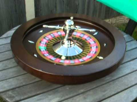 Roulette Wheel and Table Top for Sale on Ebay