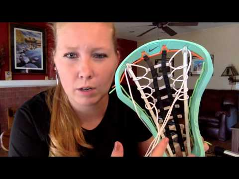 How to string a Womens Lacrosse Stick