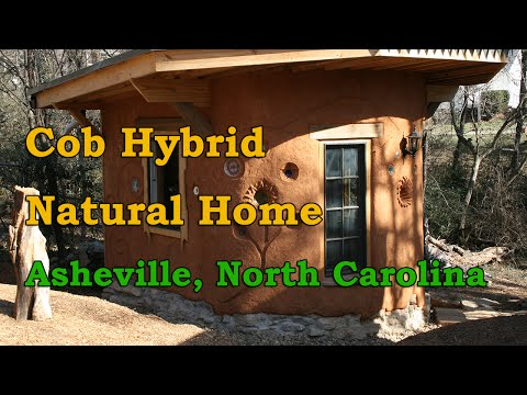 Hybrid Cob House in Asheville, North Carolina