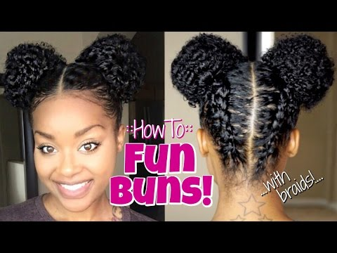 How To:: Fun Buns/Space Buns!!