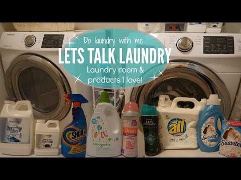 DO LAUNDRY WITH ME // LAUNDRY ROOM // SIMPLE LAUNDRY HABITS
