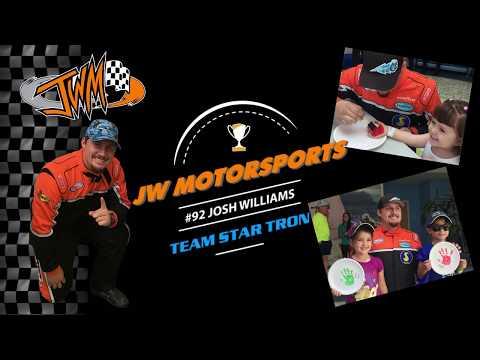 Joe DiMaggio Children's Hospital Surprise - Andrew and Team Star Tron  Driver Josh Williams #92
