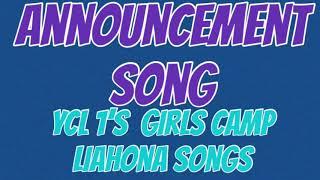 Announcement Song