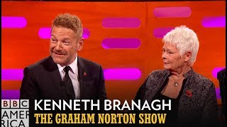 Dame Judi Dench Casually Disrobed In Front of Kenneth Branagh - The Graham Norton Show
