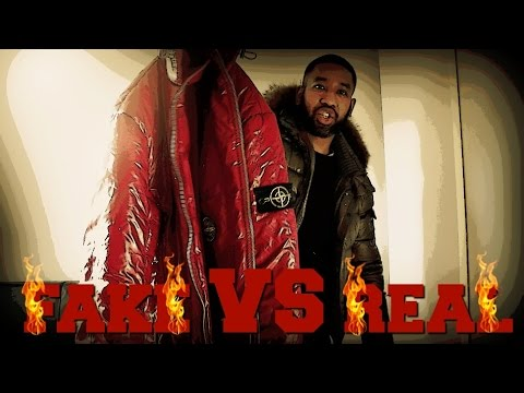 FAKE VS REAL STONE ISLAND | How to spot a fake | TheHoxtonTrend UNFROZEN VERSION