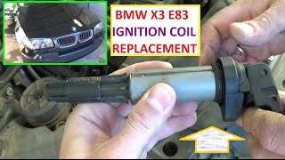 DIY Coil Pack BMW X3 ignition misfire shaking vibrating Videos