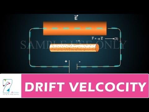 DRIFT VELCOCITY PART 01